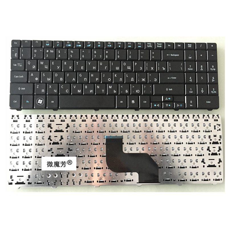 RU negro Nuevo para ACER para Aspire 5241 5541 5732G 5541g 5734 5334 5734Z NSK-GF00R teclado de ordenador portátil ruso