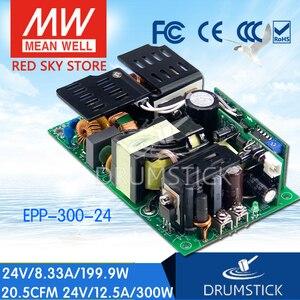 Устойчивый Средний EPP-300-24 24V 12.5A meanwell EPP-300 24V 300W одиночный выход с функцией PFC