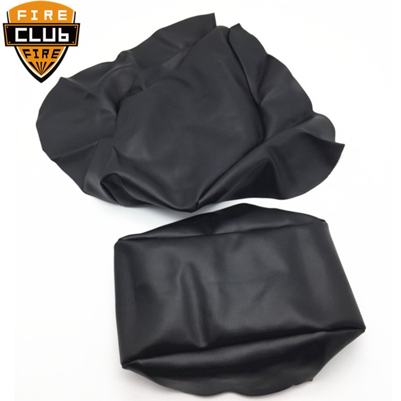 Motorcycle Seat Cover Cushion Guard Waterproof Replacement Thick Black PU Leather For Yamaha TZR125