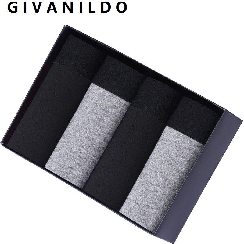 Bóxer de algodón para hombre, ropa interior suave, color gris, transpirable, U824
