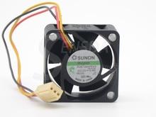 2 sztuk Sunon KDE1204PKV3 4020 40X40X20 DC 12V 0.40W serwer falownika wentylator 2 sztuk/partia