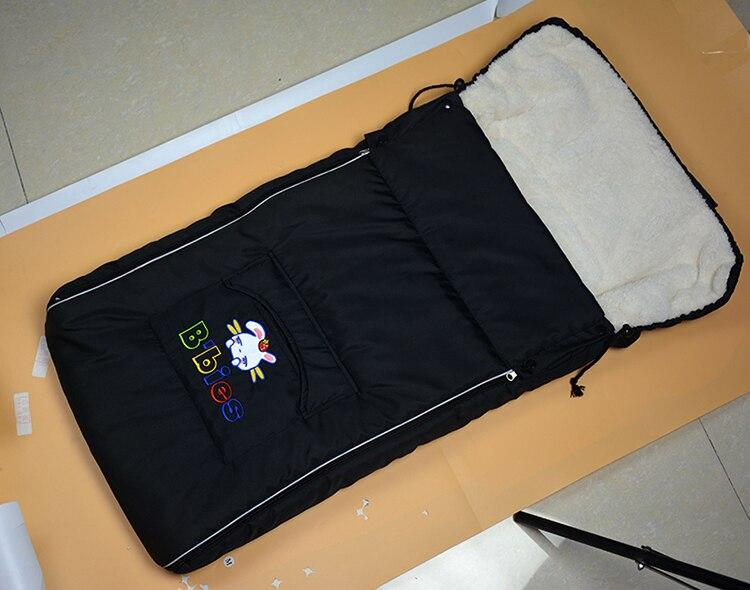 Śpiwór dla dziecka do wózka ciepłe zimowe noworodka koperty dla dzieci gruby nakładka ochronna na buty dla wózka dziecięcego wózek spacerowy nóżki