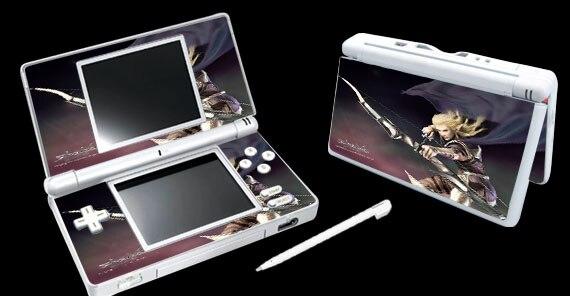 Pegatina protectora de piel de vinilo Shaiya 001 para Pegatinas de pieles de Nintendo DSL NDSL