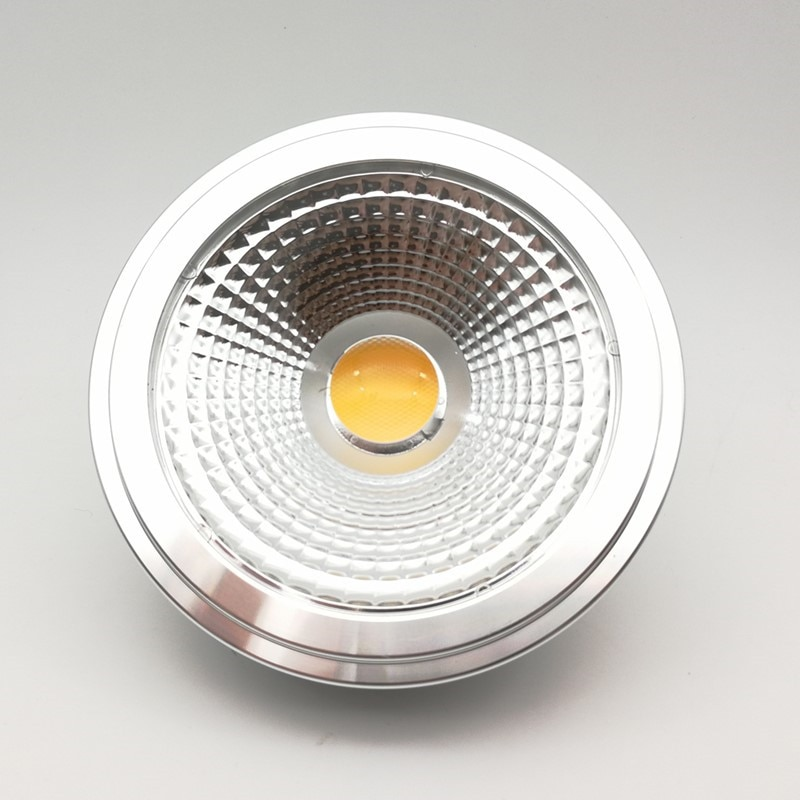 Freies verschiffen AR111 15W Led COB G53 lampe 15W G53 LED 85-260V AR111 led-lampe AR111 led-strahler Warm Kalt Weiß