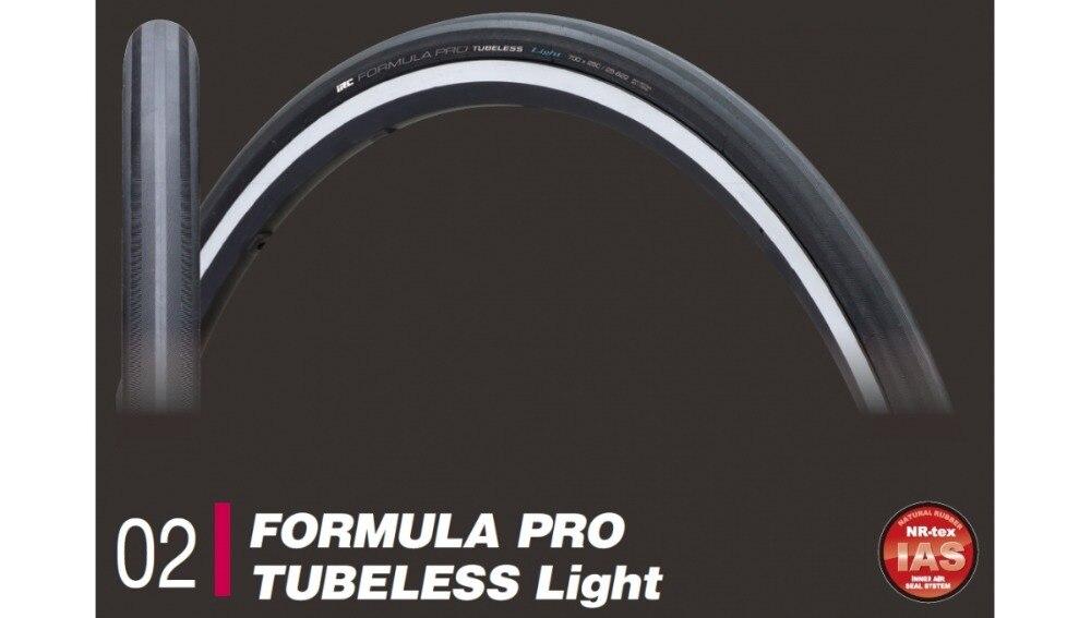El IRC fórmula Pro luz Tubeless 700x23mm 700x25mm plegable de FOURIERS agente