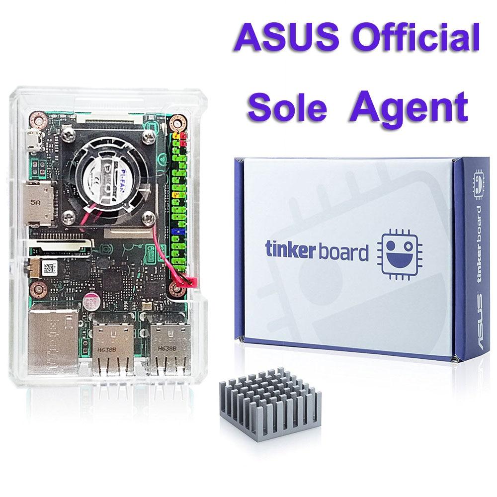 ASUS SBC Tinker board RK3288 SoC 1,8 ГГц четырехъядерный процессор, 600 МГц Mali-T764 GPU, 2 Гб LPDDR3 Thinker Board/tinkerboard