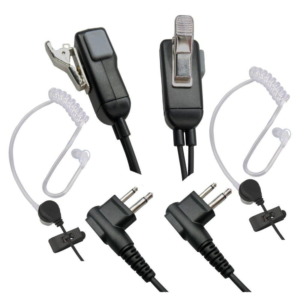 Фото - 2 Pin Earpiece Walkie Talkie Headset For Motorola Radio 2PCS tactical bowman elite ii radio headset earpiece with u94 style ptt for midland 2 pin walkie talkie g6 g7 gxt550 gxt650 lxt80 lx