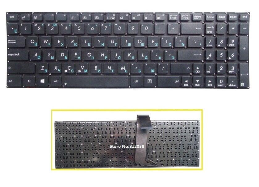¡Nuevo! teclado ruso SSEA para ordenador portátil ASUS K56 A56 K56C K56CA K56CB teclado sin marco
