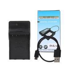 EN-EL14 USB Cable battery charger for Nikon P7800,P7700,P7100,D3400,D5500,D5300,D5200,D3200,D3300,D5100,D3100