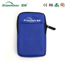 Blueinfinity nouveau produit 2.5 pouces HDD Protection boîte sac étui pour externe Portable HDD Portable sac de disque dur