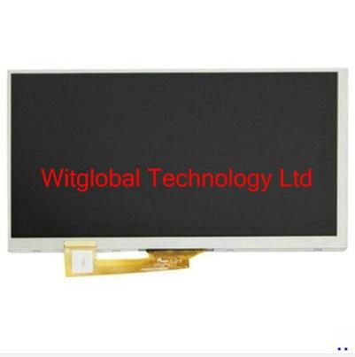 "Witblue nueva pantalla LCD para 7 ""Tesla elemento 7,0 SE713G tableta interior TFT LCD Panel de pantalla Módulo de lente de vidrio reemplazo"