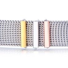 Período de joyería de lujo o grado de deslizamiento encantos Keepers llaves caben en Reversible Keeper pulsera de acero inoxidable pulseras envolventes