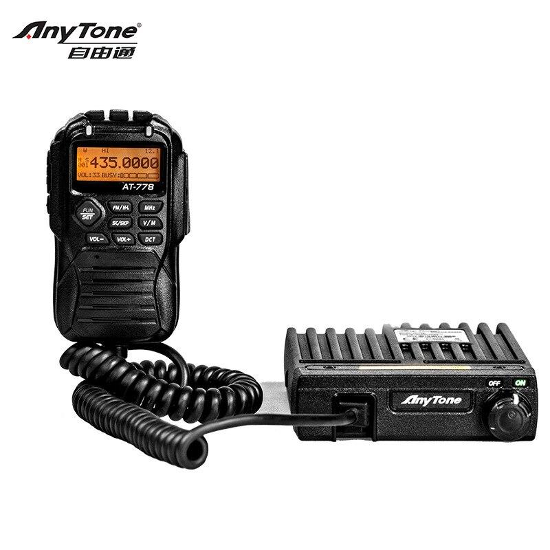 ZU-778 Mobile Transeiver Breite Band 400-490MHz 25W Power Amateur/Professionelle Modus Anytone Auto intercom Radio Basis Station
