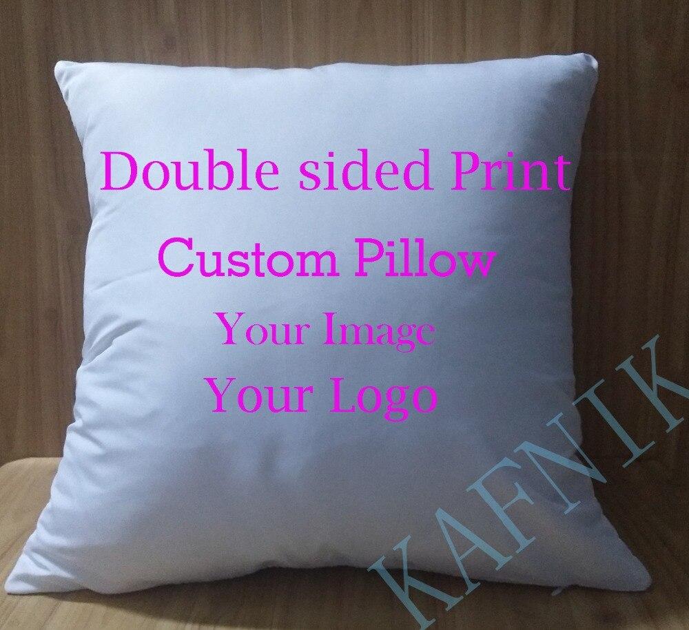 KAFNIK, benutzerdefinierte weichen fleck Doppelseitige 45*45cm Bild Kissen für Sofa Sitz Stuhl Dekorative/Moderne Wohnkultur print Wurf Kissen