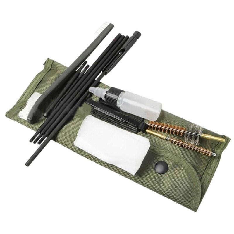 Аксессуары для чистки ружья, чистящая щетка 10 шт. 22 22LR. 223 556, набор для чистки ружья, набор для чистки ружья, нейлоновые инструменты