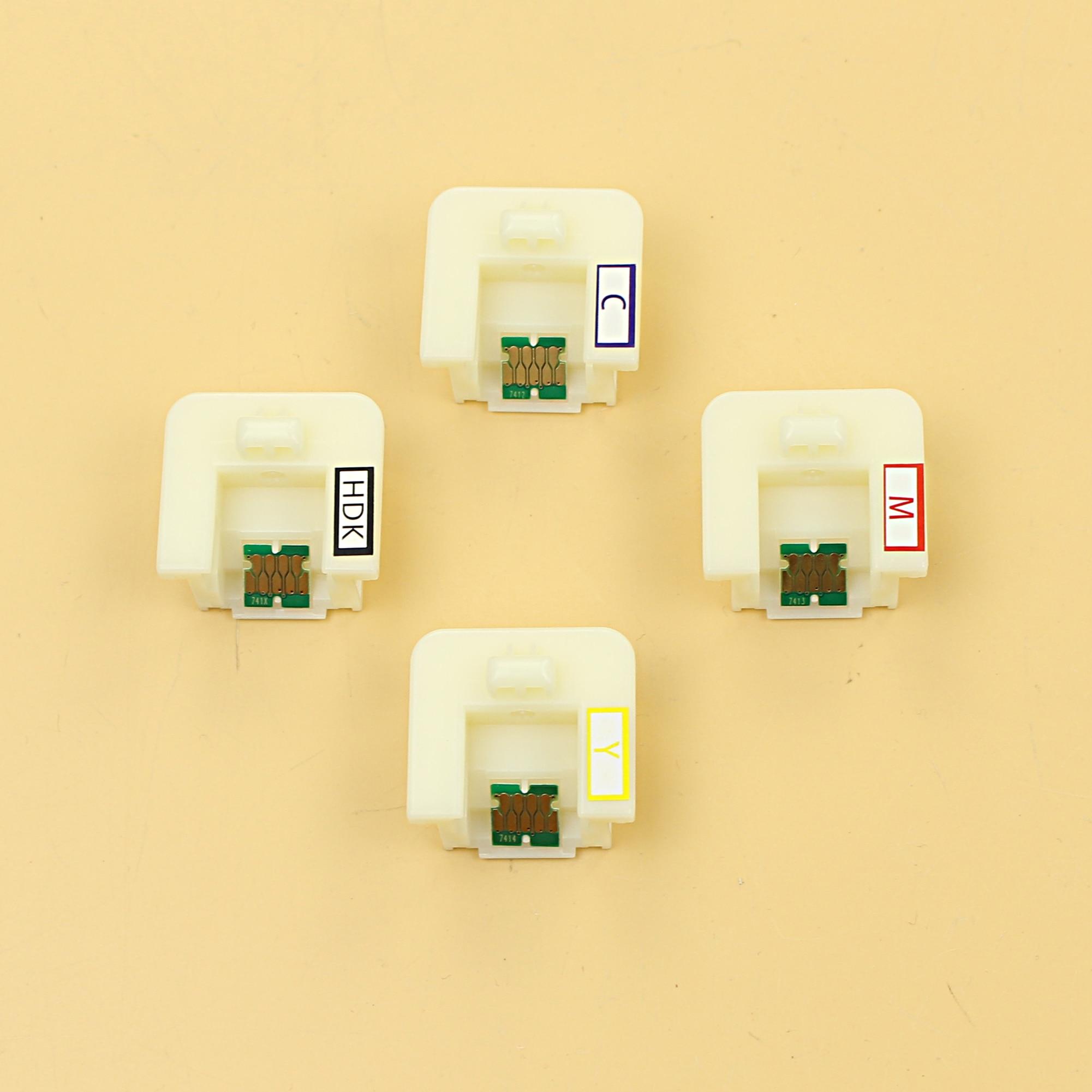 DGYCJLFP un tiempo chip con soporte para Epson SureColor de F6000 7000 9000 F6070 7070 9070 F6200 7200 impresora 9200