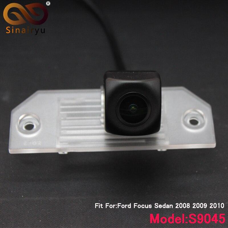 Sinairyu HD 170 Degree 1080P Fisheye Sony/MCCD Lens Starlight Night Vision Car Reverse Rear View Camera For Ford Focus Sedan