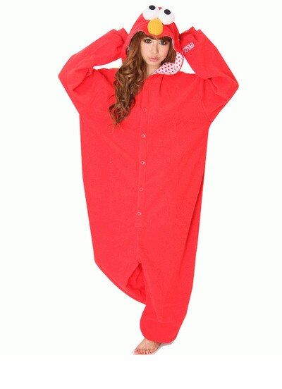 Nuevo disfraz de monstruo Elmo de Barrio Sésamo Cooki, pelele para adulto, pijamas Unisex, pijamas de animales para Halloween, Sudadera con capucha, monos