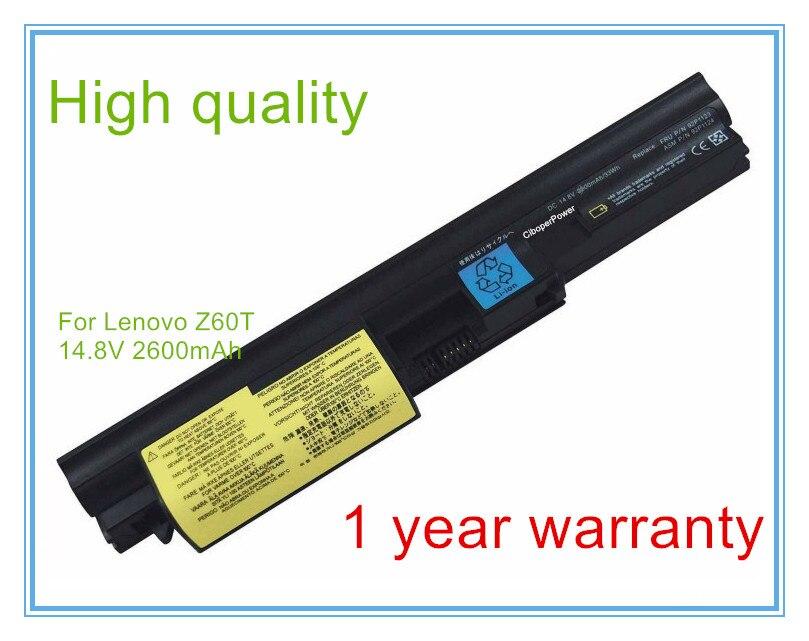 4cell batterie dordinateur portable pour Z60t Z61t 40Y6791 40Y6793 ASM 92P1122 ASM 92P1126 FRU 92P1121