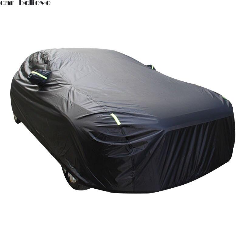 Cubiertas de coche paraguas sombrilla de sombra de sol, funda de coche para outlander xl passat b5 bmw e46 haval h6 golf 7 retráctil de la cortina