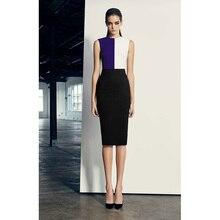 En gros nouvelle robe de mode couleur rayonne tricot serré maigre Europe célébrité fête robe de pansement (H2237)