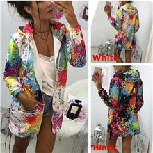 2019 New Unicorn Moletom Feminino Women Outerwear Coats Jacket Print Outwear Sweatshirt Woman Hoodie Cotton Womens Clothing