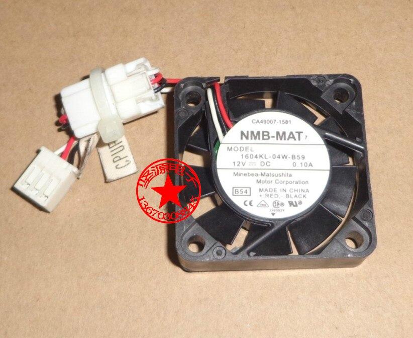 NMB-MAT 1604KL-04W-B59 B54 DC 12V 0.10A ventilador de refrigeración de servidor