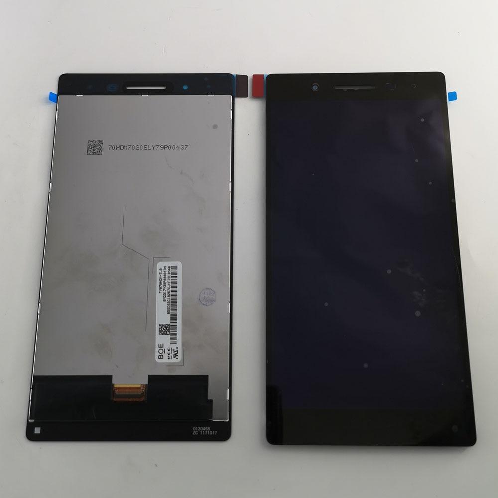 Polegada Para Lenovo Tab 4 7 TB-7504X LCD Tab 4 TB-7504N TB-7504x TB-7504F Display LCD e Touch Screen Digitador Assembléia
