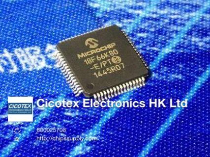 2 шт./лот PIC18F66K80-E/PT TQFP-64 IC MCU 8BIT 64KB FLASH 64TQFP
