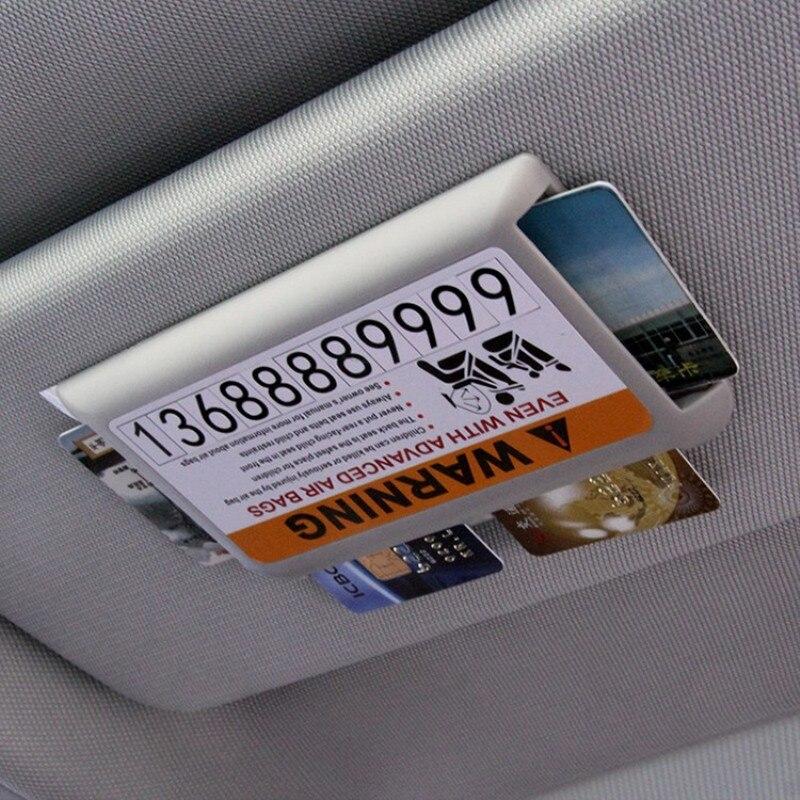Автомобильный Стайлинг Солнцезащитный козырек держатель карты парковки аксессуары наклейка для Kia Rio K2 3 Ceed Sportage Sorento Cerato подлокотник Soul Picanto