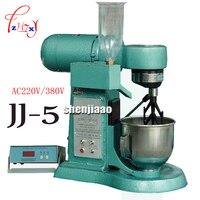 AC 220v / 380v JJ-5 cement mortar mixer type Cement mortar mixer cement mixer 5L plastic sand machine