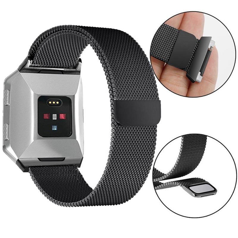 Ремешок из нержавеющей стали для часов Fitbit Ionic Smart Watch Milanese сменный Браслет для Fitbit Ionic аксессуары Correa