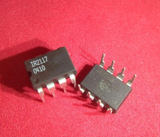 50 unids/lote IR2117 IR2117PBF controlador MOSFET SGL-CH 8-DIP mejor calidad IC