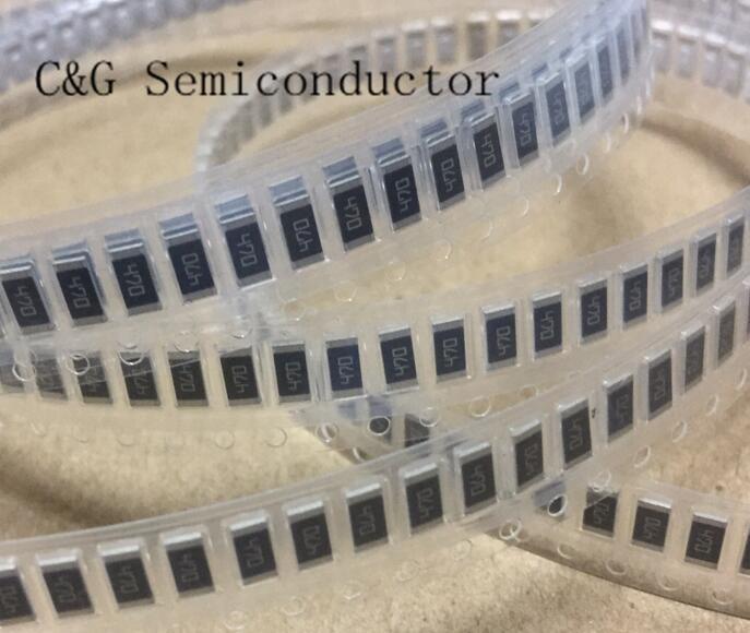 50PCS 2010 100 OHM 100R 5% 3/4W smd thick film chip resistor (39R 43R 47R 51R