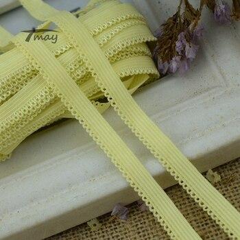 Эластичная эластичная резинка для Bnds #1342, 8 ярдов/партия, эластичная лента для шитья, Аппликации, нижнее белье, штаны