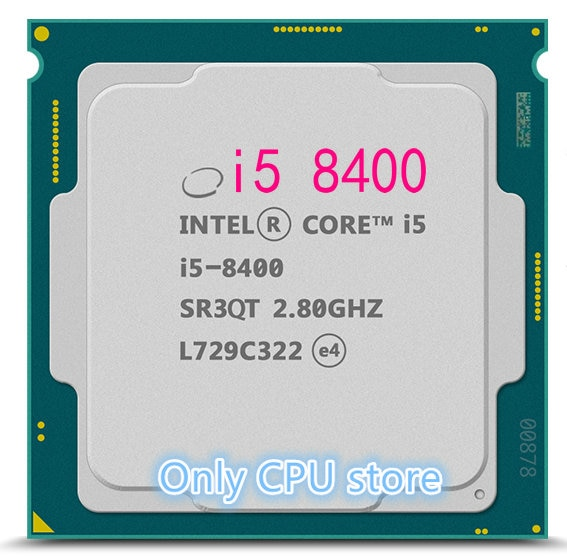 Intel i5 procesador 8400 6-Core 2,8 GHz 65W Socket LGA 1151 CPU envío gratis