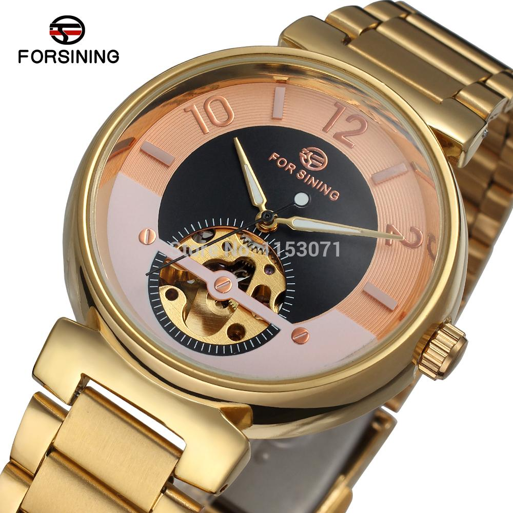 FSG8070M4G2 Promorion New Luxury Men's  Automatic Self-wind Dress Oiginal Skeleton Watch With Gift Box  Free Shipping Best
