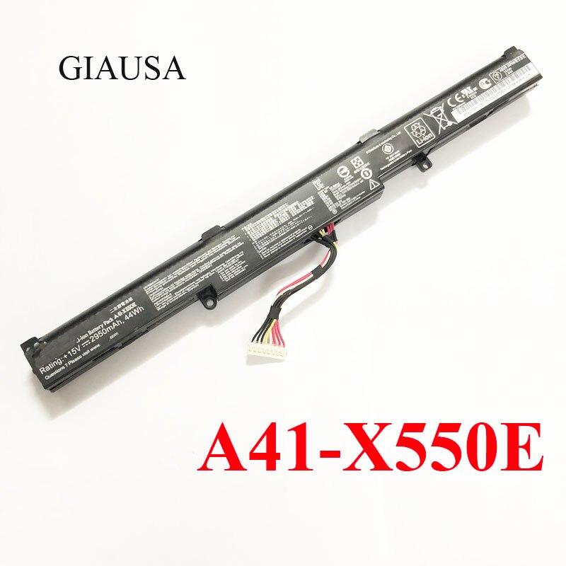 A41-X550E bateria bateria Bateria Para Asus bateria X450 X450E X550E X450J X450JF X751M X751MA-DB01Q X751MA