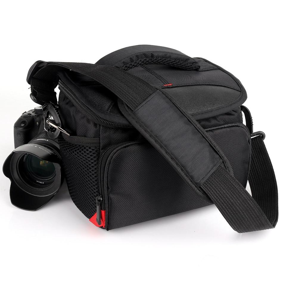 DSLR Camera Bag Shoulder Fotografia Case For Nikon Camera Canon Sony alpha Fujifilm Panasonic Olympus Photo Backpack Lens Case
