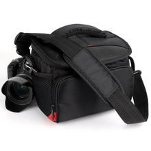 Sac pour appareil Photo reflex numérique étui à bandoulière Fotografia pour appareil Photo Nikon Canon Sony alpha Fujifilm Panasonic Olympus étui pour objectif sac à dos Photo