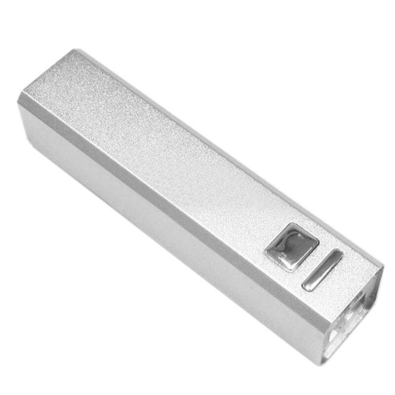 Алюминиевый Чехол DIY USB Power Bank только 18650 зарядное устройство 2600 мАч