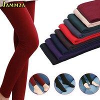 Новые зимние теплые плотные шерстяные колготки для женщин, Высококачественные эластичные бархатные модные однотонные женские колготки