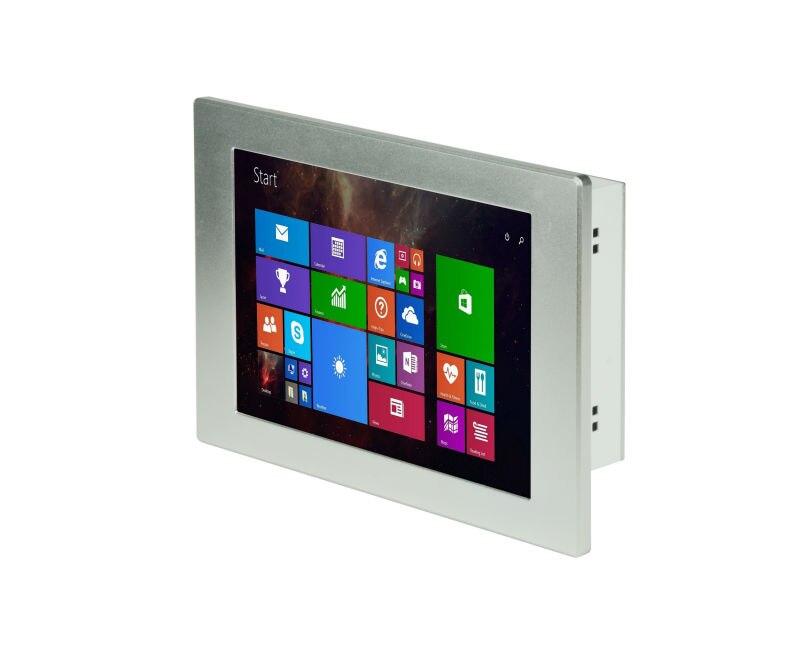 "Industrie Panel Computer PC 8,4 ""bildschirm Windows XP 7 8 Metall Robusten Tablet PC Linux mini PC 2 GB RAM RS232"