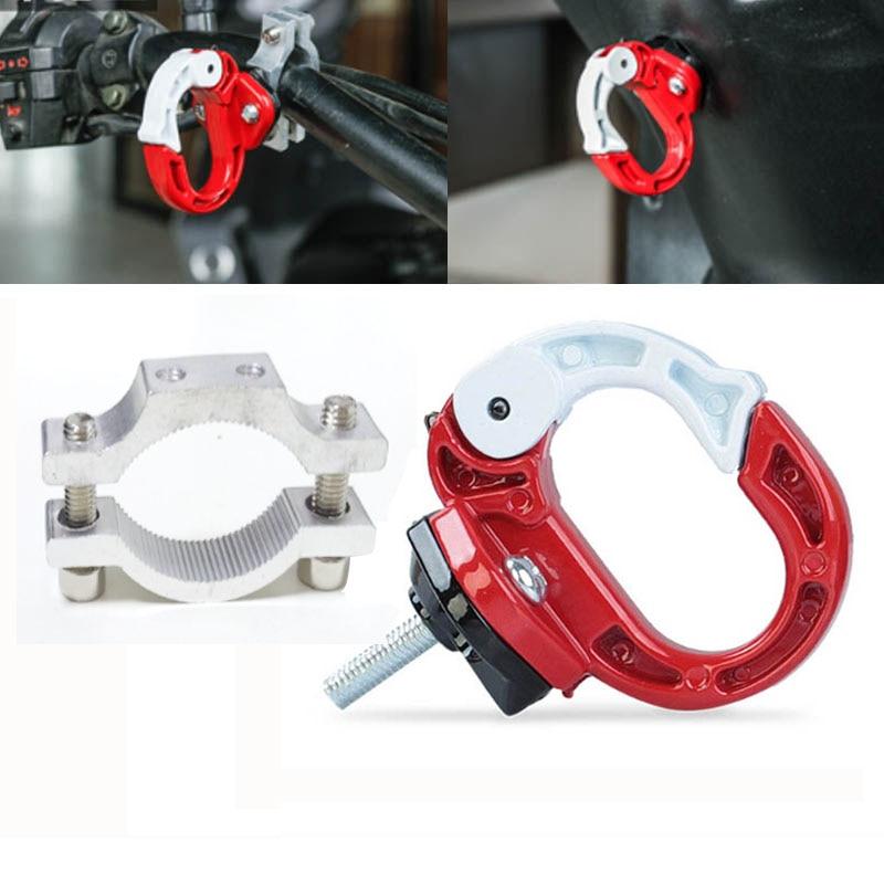 Soporte Universal de gancho de aleación de aluminio para motocicleta con manillar, instalación de gancho de montaje para el casco de equipaje Benelli 600
