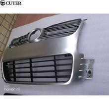 Golf 5 r32 abs preto amortecedor dianteiro grade de malha grills para vw golf5 mk5 r32 pára-choques 2005-2009
