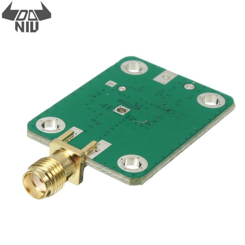 Daniu dc 7-15 v 1-8000 mhz ad8318 rf detector logarítmico 70db rssi medição placa do módulo do medidor de potência com circuito regulador