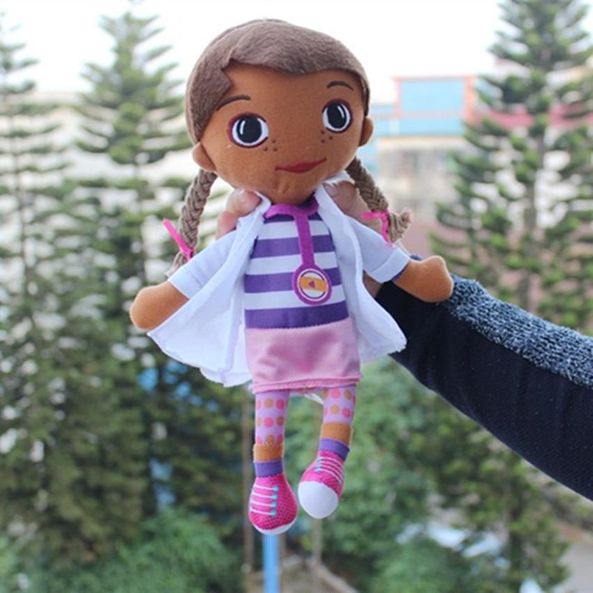 30cm Mcstuffins Clinic Doctor Baby Kids peluche muñeca de peluche Animal de peluche muñeca suave para niños Brinquedo Girl regalo