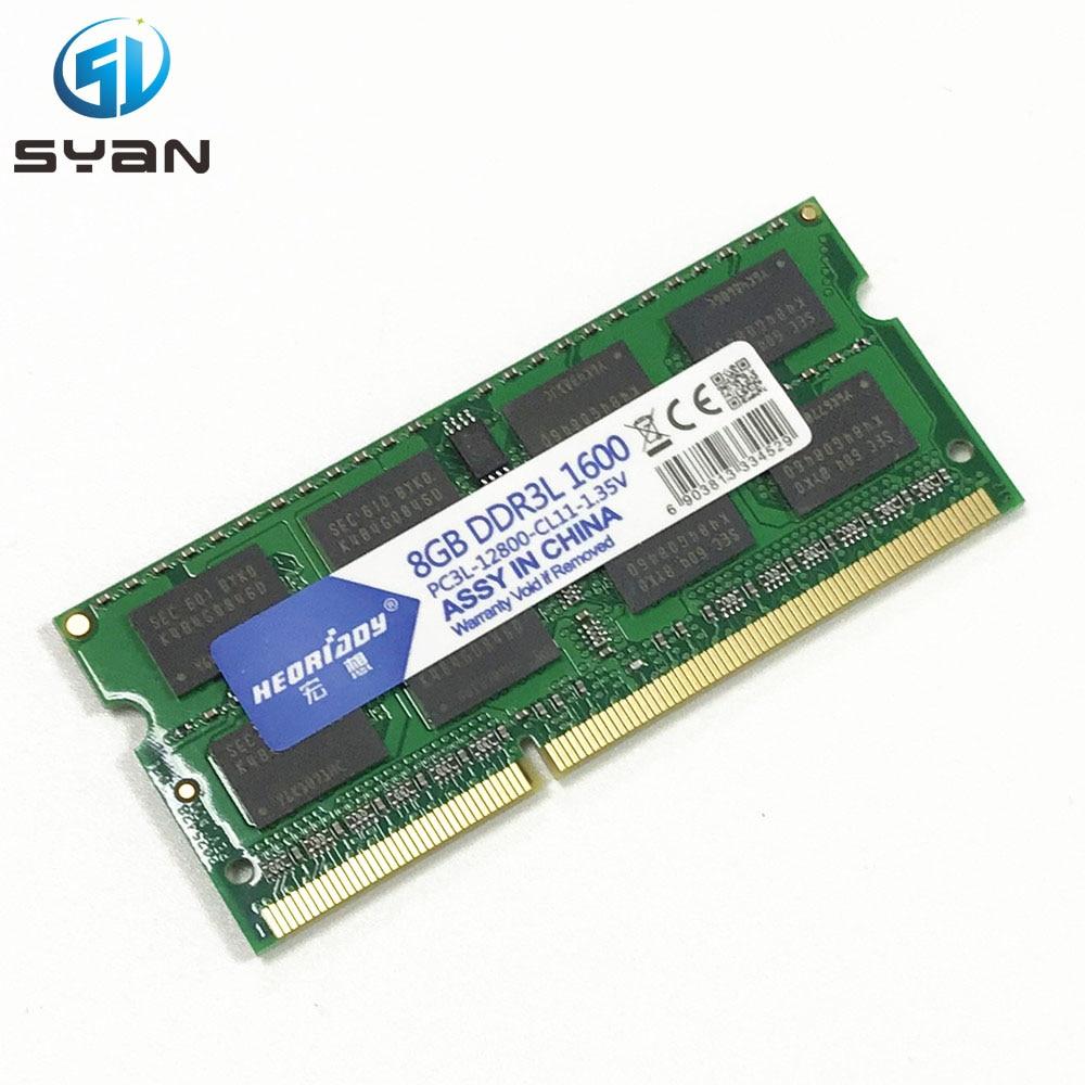 Оперативная память 4 ГБ 8 ГБ 1333 1600 DDR3L оперативная Память память sd ram ноутбук для Macbook Pro A1278 A1286 A1181 A1342 память