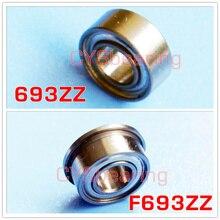 693ZZ F693ZZ Bearing 3x8x4 mm Miniature 693 ZZ Ball Bearings 619/3ZZ Mini 693Z 3*8*4 S693ZZ stainless steel bearing