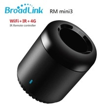 Broadlink RM Mini3 Smart Home Automation Universal Intelligent WiFi/IR/4G Wireless Controller,Support Alexa/Goggle Voice control